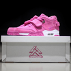 "Victor Cruz And Sneaker Room Auctioning Off Limited Edition ""Pink Fire"" Nike Air Trainer Cruz"