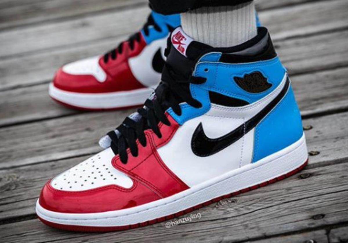 Air Jordan 1 High Og Fearless Coming Soon On Foot Images