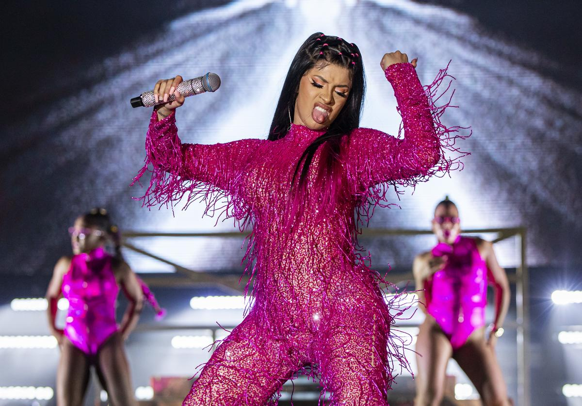 Cardi B Reveals Plans For The Year Album Details New Baby With