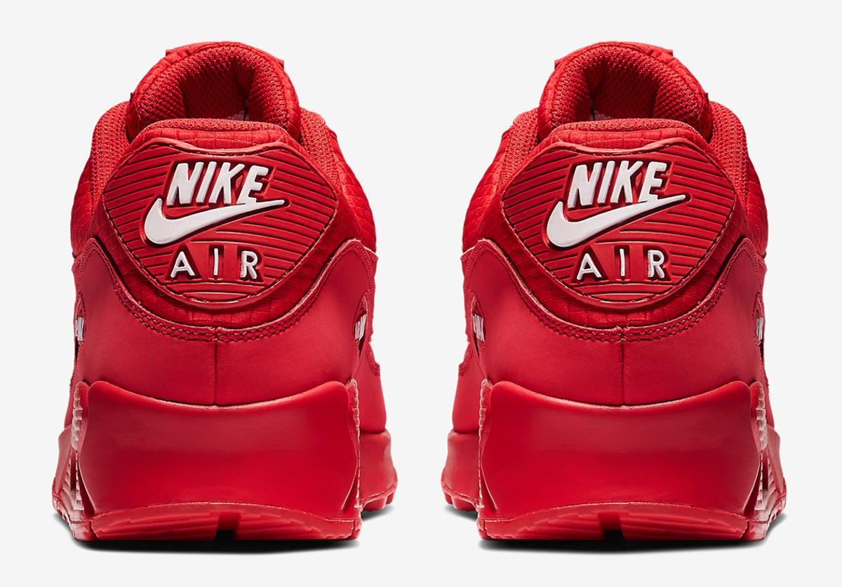 Off White X Nike Air Max 90 Rumored To Drop In Red Colorway What
