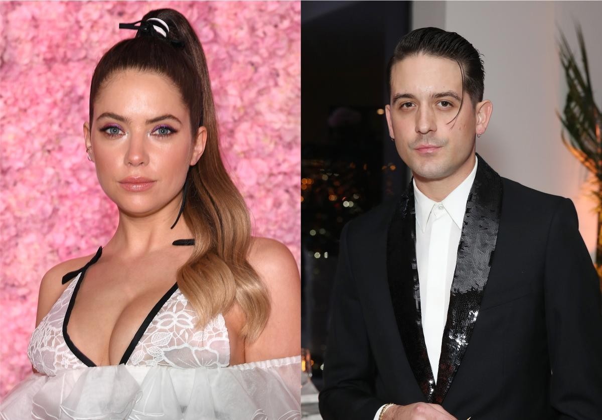 Ashley Benson Locks Lips With G Eazy Days After Her Split With