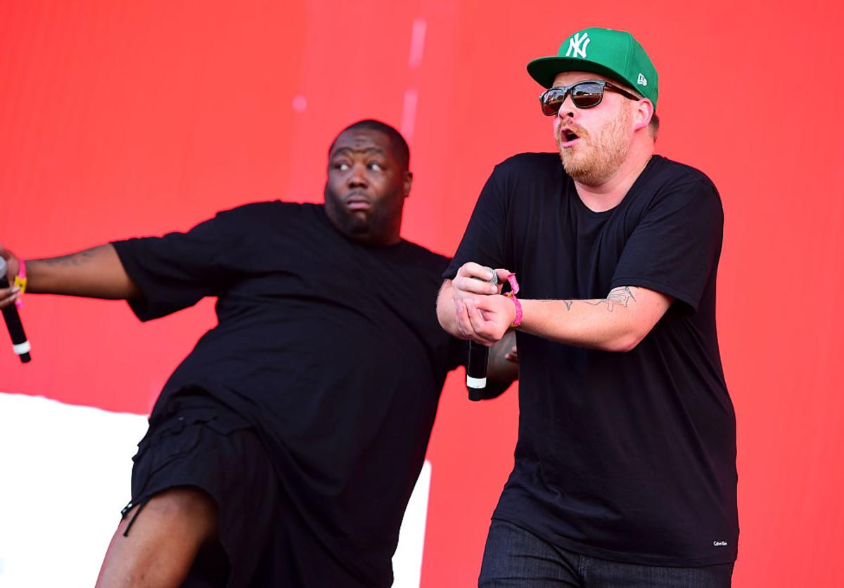 Killer Mike and EL-P of Run the Jewels perform onstage at the 2016 Panorama NYC Festival - Day 3 at Randall's Island on July 24, 2016 in New York City.