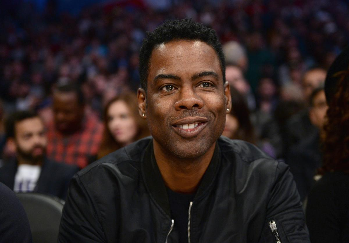Chris Rock at NBA All Star Game 2018