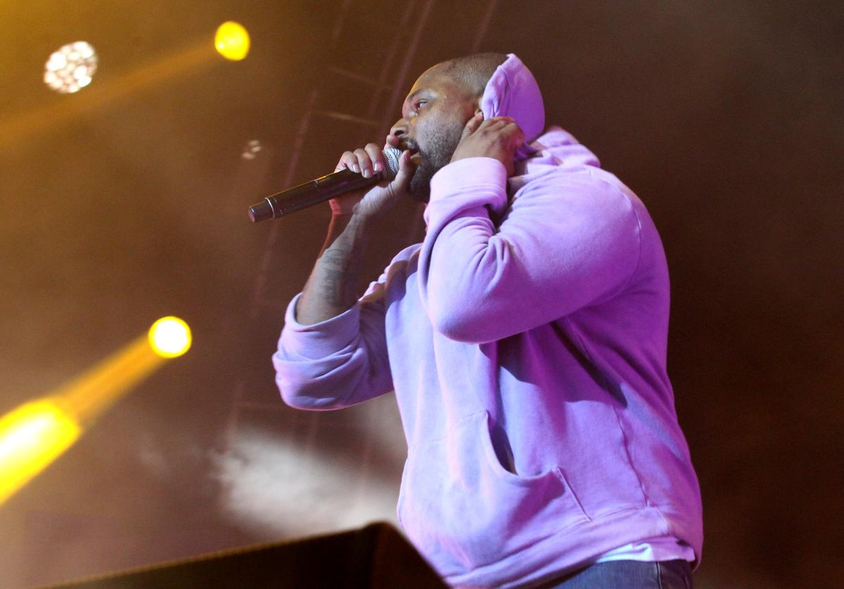 ScHoolboy Q performs onstage at night three of the STAPLES Center Concert