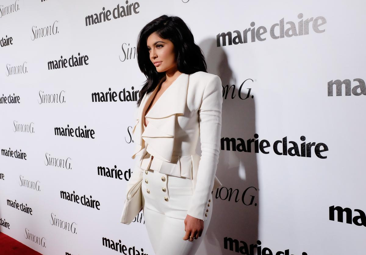 Kylie Jenner attends the 'Fresh Faces' party, hosted by Marie Claire, celebrating the May issue cover stars on April 11, 2016 in Los Angeles, California