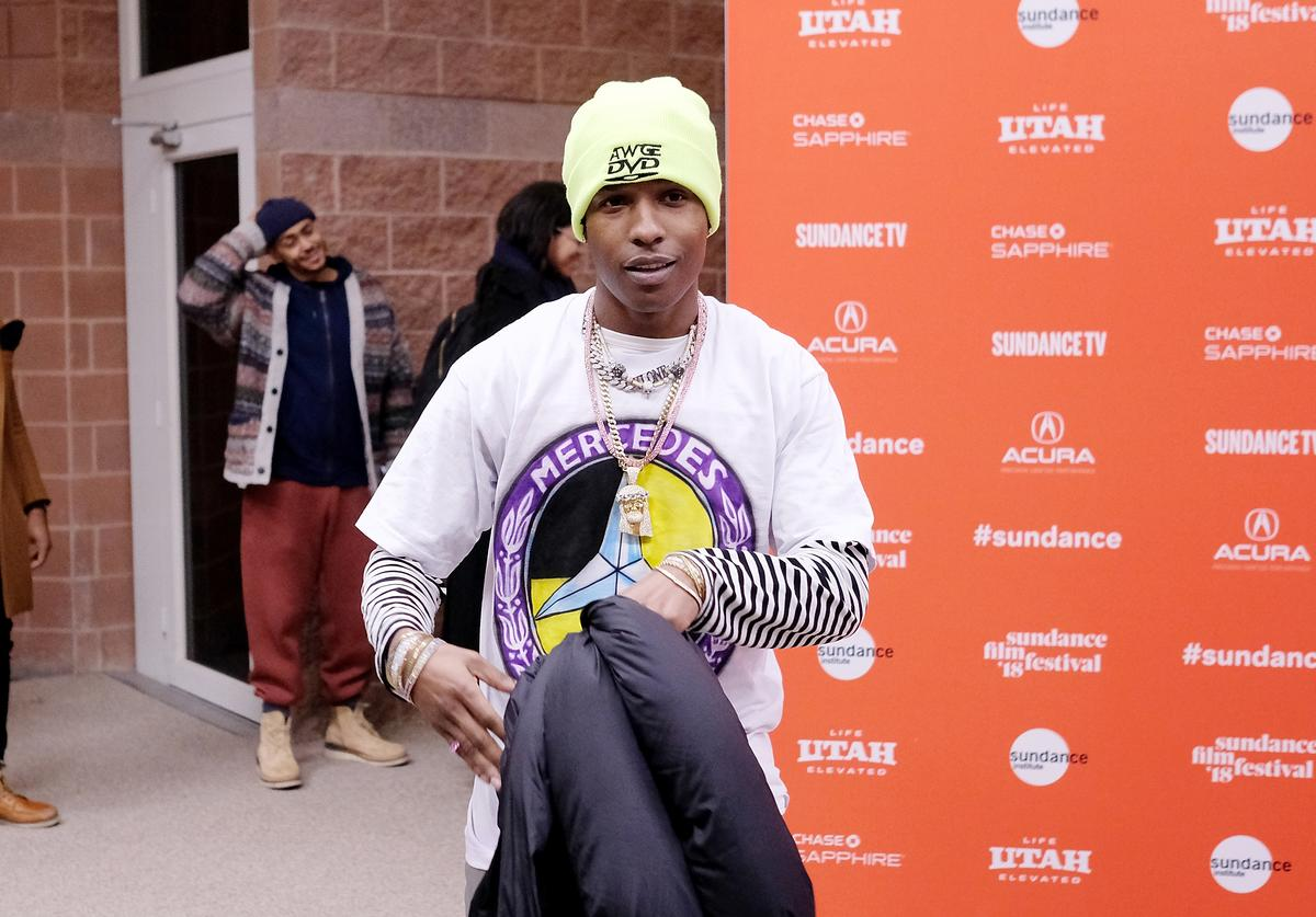 Rapper A$AP Rocky attends the 'Monster' Premiere during the 2018 Sundance Film Festival at Eccles Center Theatre on January 22, 2018 in Park City, Utah