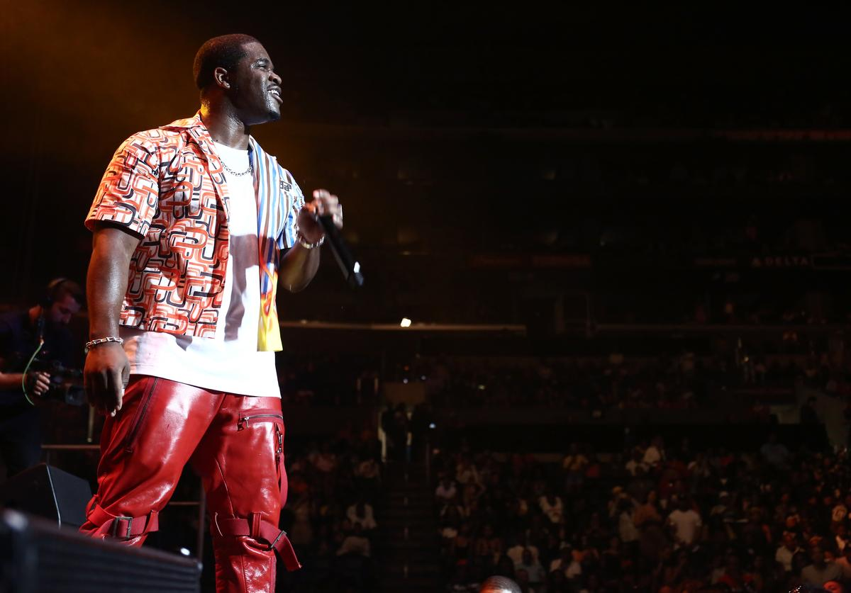 Ferg performs onstage at the STAPLES Center Concert Sponsored by SPRITE during the 2018 BET Experience on June 23, 2018 in Los Angeles, California.