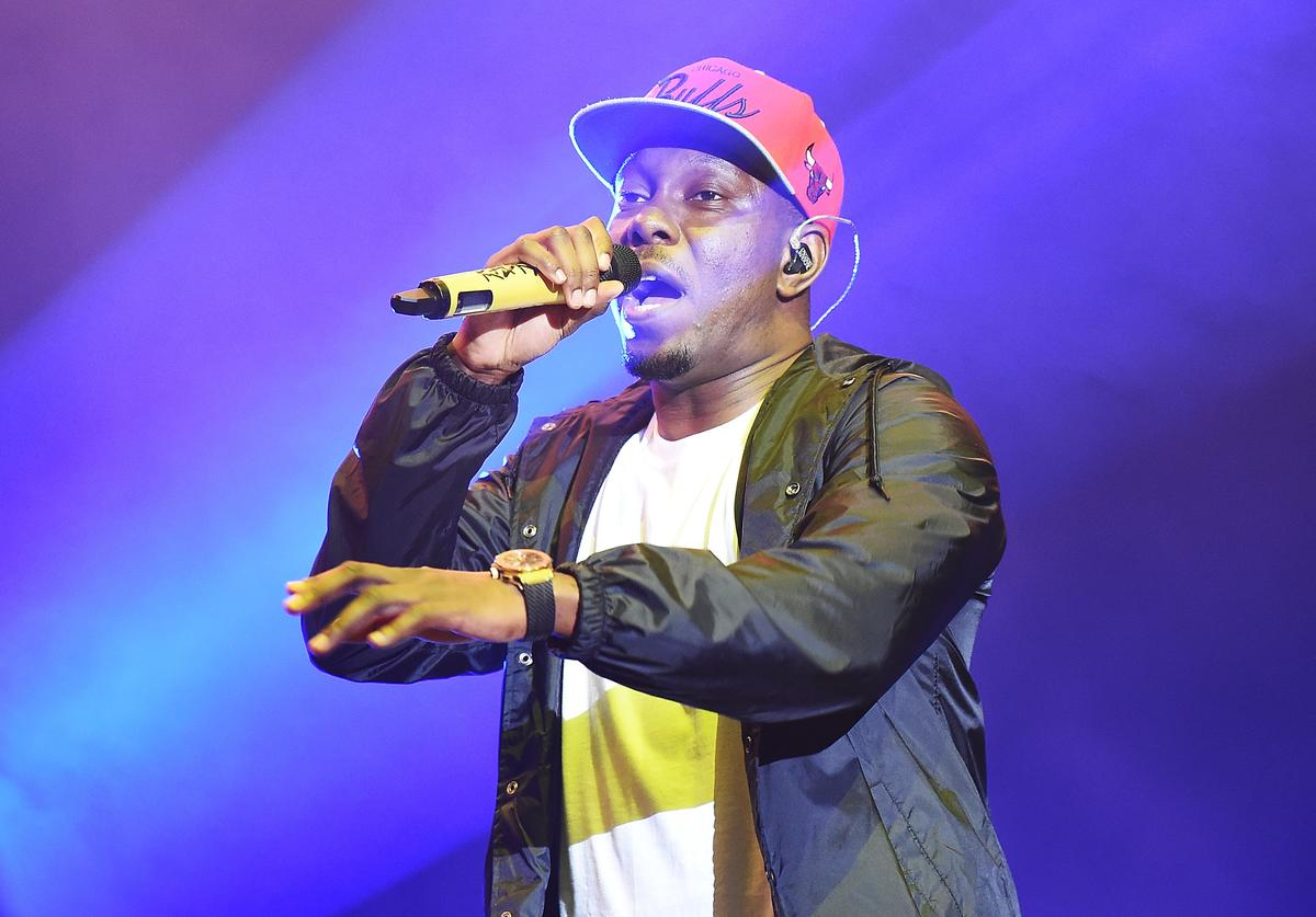 Dizzee Rascal performs on The Castle stage on Day 3 of Bestival at Lulworth Castle on September 9, 2017 in Wareham, England