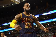 LeBron James Throws Down Arguably Dunk Of The Year (And Maybe His Career?)
