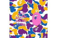 Anti Social Social Club & Bape Linking Up For New Collaboration