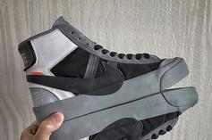 Off-White x Nike Blazer Mid Releasing In Grey Colorway