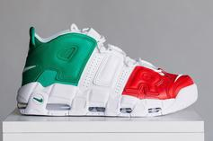 "Nike Air More Uptempo EU ""City Pack"" Releasing Today: Purchase Links"