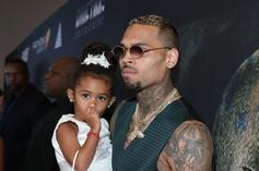 Chris Brown's Daughter Royalty Flaunts Dad's Clothing Line In Matching Gear