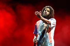 J. Cole Is Politely Eating Off Everyone's Plate