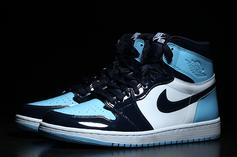"Air Jordan 1 ""UNC Patent Leather"" Gets February Release Date: New Images"