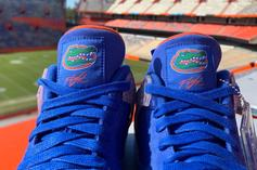 Florida Gators Air Jordan 4 PE Surfaces: Detailed Images