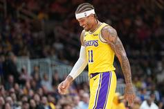 Michael Beasley Checks Into Game With Practice Shorts On