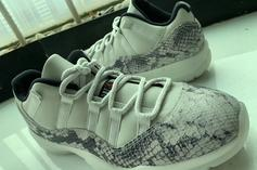 "Air Jordan 11 Low ""Snakeskin"" Returning This Year: First Look"