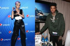 """Blueface Secures Cardi B For A Revamped """"Thotiana"""" Remix"""