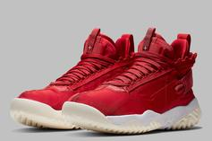 """Jordan Proto React """"University Red"""" Official Images Released"""