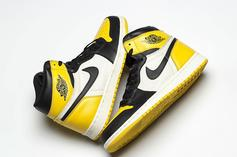 Air Jordan 1 Yellow And Black Colorway Rumored For The Summer