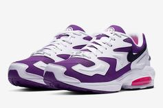 "Nike Air Max2 Light ""Purple Berry"" Official Images & Release Info"