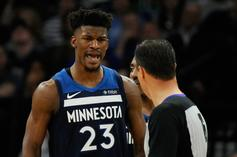 Jimmy Butler & Jared Dudley Ejected From 76ers VS Nets Playoff Game After Fight