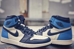 "Air Jordan 1 Retro High OG ""Obsidian/UNC Blue"" Releasing This Summer"