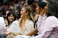 Chrissy Teigen, John Legend Gifted Painting Of Epic Dwyane Wade Photo