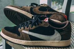 Travis Scott X Air Jordan 1 Low Sparks Intrigue: New In-Hand Photos