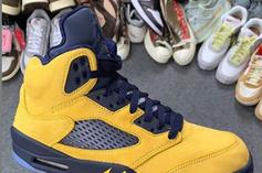 "Air Jordan 5 Retro SP ""Inspire"" Drops In August: Closer Look"
