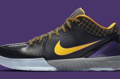 "Nike Kobe 4 Protro ""Carpe Diem"" Drops This Week: Official Images"
