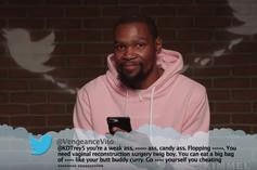 Kevin Durant, Charles Barkley & Other NBA Stars Read Mean Tweets: Video