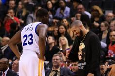 """Drake & Draymond Green Reportedly """"Hashed It Out"""" Over Drinks After Game 1 Scuffle"""