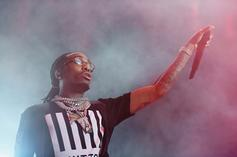 """Quavo Drops $11,000 During """"Sneaker Shopping"""" At A Ma Maniere"""