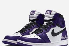 """Air Jordan 1 High OG """"Court Purple"""" Expected For 2020: First Look"""