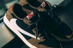 Travis Scott Air Jordan 1 Low Collab Coming Soon: New Images