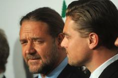 Russell Crowe Bought A Dinosaur Skull From Leonardo DiCaprio
