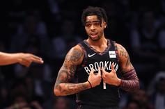 D'Angelo Russell Crosses Kids Out During Youth Basketball Camp: Watch