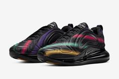 """Nike Air Max 720 Gets New """"Multicolor"""" Model: Official Photos"""