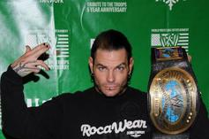 WWE's Jeff Hardy Reportedly Found Passed Out In Stairwell Before Arrest