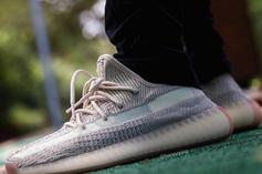 "Adidas Yeezy Boost 350 V2 ""Citrin"" Coming This Fall: On-Foot Images"