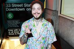 "Post Malone Brings His Bedazzled Cowboy Grit To NYC In Debut ""Circles"" Performance"