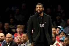 Nets Announce Kyrie Irving Jersey Giveaway For First Knicks Game