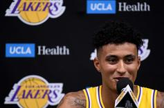 Lakers' Kyle Kuzma Teases Hilarious New Hairstyle