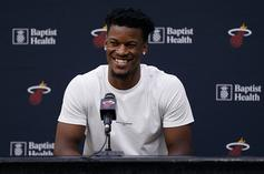 """Jimmy Butler Compares His Life To Famous Artists: """"I'm More Like A Banksy"""""""