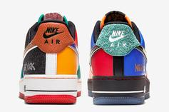 """Nike Air Force 1 Low """"What The NY"""" Release Date Revealed: Official Photos"""
