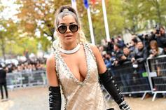 Rita Ora Shows Off Her Fit Physique During Greece Getaway