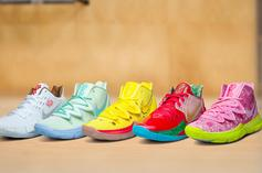 SpongeBob x Nike Kyrie Collection Restocks Today: Purchase Links