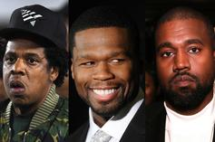50 Cent Finds Meme-Worthy Gold In Kanye West & Jay-Z Reunion Flick